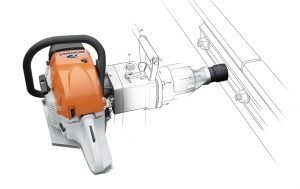 Lightweight impact wrench coachscrewing MIW3 delivering high torque