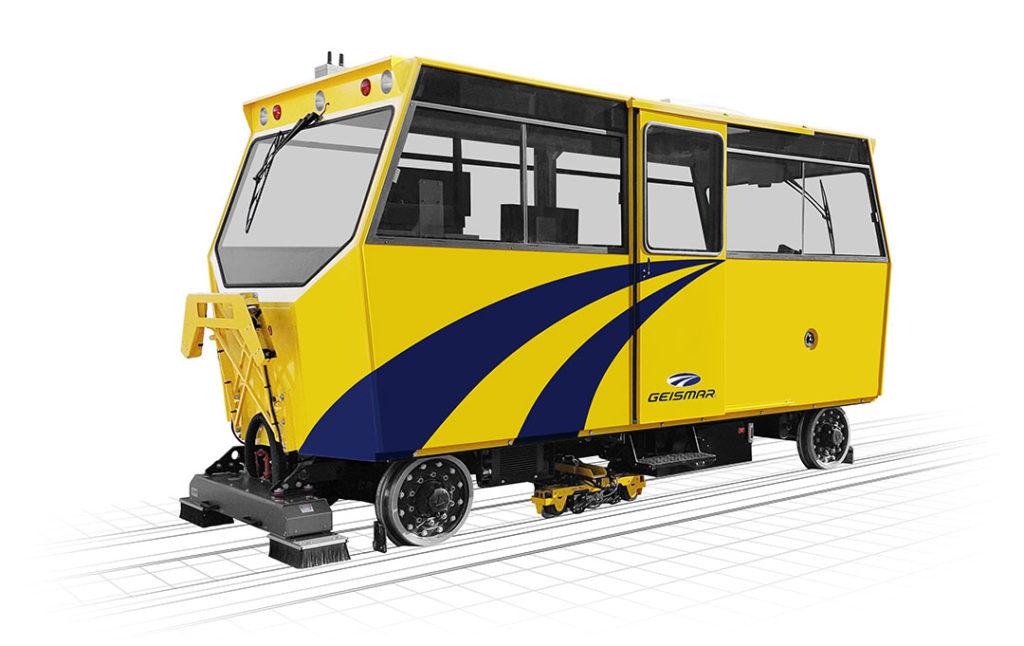 Véhicule de transport - de mesure et d'auscultation de voie - VIGILIS 400