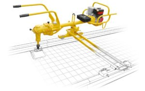 Heavy duty coachscrewing machine TS2 for continuous operations