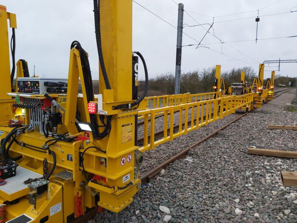 Les machines PEM sont testées au RIDC de Network Rail à Tuxford