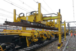 PWP | the latest generation of GEISMAR track laying gantries, which has won acclaim in Central Europe